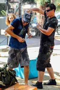 Traditional Armenian Varte Var--Water Fight