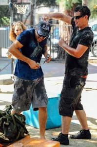 Traditional Armenian Varte Var--Water Fight